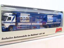 AWM 1/87 55082 Volvo Pritschenhängerzug Steiner Holztrans AG  OVP (TR7079)