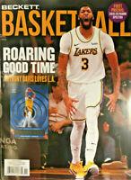 New November 2020 Beckett Basketball Card Price Guide Magazine W/ Anthony Davis