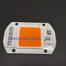 20W 30W 50W full spectrum 380-840nm white/warm LED COB Chip  110V 220V Smart IC
