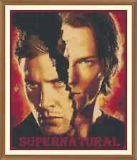 Supernatural (new) Cross Stitch Chart  x 12.0 x 10.0Inches