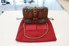 Authentic Valentino Garavani Brown Small Crossbody Bag