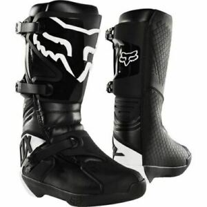 Fox Racing Comp Motocross Boots - Black/White Mens Save $$