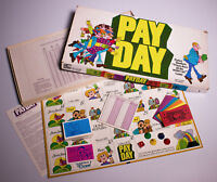 Vintage 1975 Parker Brothers Pay Day Board Game - COMPLETE