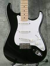 2008 Fender Artist Signature Eric Clapton Stratocaster Black Guitar with Case
