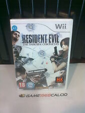 RESIDENT EVIL THE DARKSIDE CHRONICLES - NINTENDO WII -  NUOVO NEW SIGILLATO ITA