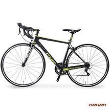 700C Full Carbon Fiber Frame Road Bike Racing Bicycle18 Speed Shimano Cycling
