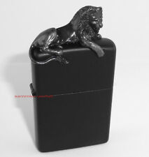 ZIPPO BLACK LION 3D Limited Edition xxx/250 Schwarzer Löwe im Schweberahmen NEU