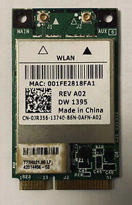 Wifi Card Broadcom BCM94312MCG Mini PCI-e Wireless WLAN Network Card DW 1395(28)