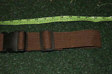 """JOB LOT x 20 BRITISH PATTERN ARMY MILITARY BELTS 2"""" QUIK RELEASE NEW BROWN MTP"""