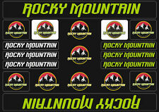 Rocky Mountain  Bicycle Frame Decals Stickers Graphic Adhesive Set Vinyl Green