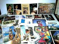 Vintage U.S. & International Postcards Variety Countries and Scenes, LOT 100+