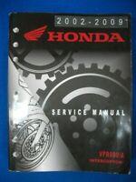 Honda 2002 2003 2004 2005 2006 2007 - 2009 VFR800A Factory Service Manual A148