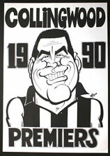 Collingwood Magpies Unbranded 1990s AFL & Australian Rules Football Memorabilia