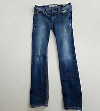 BKE Denim Addison Skinny Jeans Distressed Destroyed Size 27 R