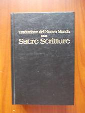 TRADUZIONE DEL NUOVO MONDO DELLE SACRE SCRITTURE