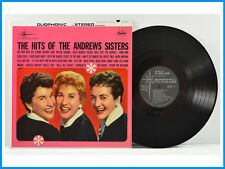 The Hits Of The Andrews Sisters Record Capitol Records DT 1924