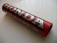 New Honda Handlebar Bar Pad Red Cr Crf Xr Mtx Xlr Xl Qr Tlr Nx Motocross Enduro