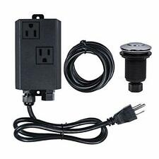 Garbage Disposal Air Switch Kit Dual Outlet Sink Top Waste Disposal Stainless St