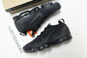 NIKE AIR VAPORMAX FLYKNIT 2021 BLACK ANTHRACITE DH4084-001 Mens Running Shoes