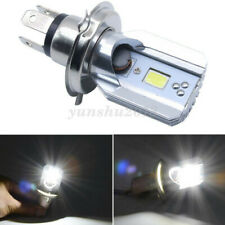 US Motorcycle H4 6500K LED Hi/Lo Beam Headlight Front Light Bulb For Honda