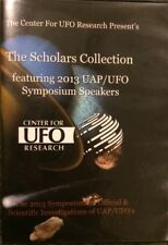 Scholars Collection 2013 UAP/UFO Symposium Speakers Research Greensboro 2of3 DVD