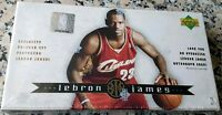 LEBRON JAMES 2003-04 Upper Deck NEW Sealed Box 32 Rookie Card RC Set MVP AUTO ??