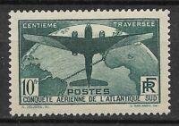 France 1936 Traversée de L'Atlantique N° 321 N * * / MNH