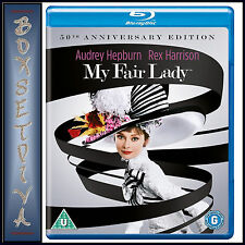 MY FAIR LADY - 50TH ANNIVERSARY RESTORATION EDITION **BRAND NEW BLURAY**
