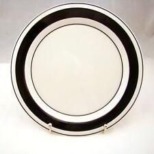 Arabia FAENZA BLACK Salad Plate(s)