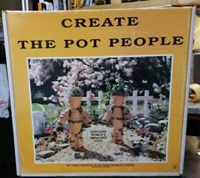 Rare ~F.W. Ritter & Sons Pot People Clay Pot Kit~Brand New Old Stock!