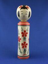 Kokeshi - traditionelle Puppe aus Japan - Naruko style: Nadeshiko (dianthus)