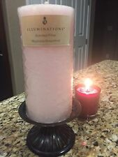 Illuminations Candle MAGNOLIA GRAPEFRUIT Scented Pillar Up to 90 Hours RARE