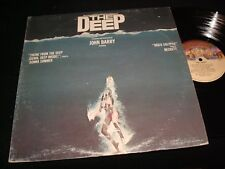 "THE DEEP<>JOHN BARRY<>12"" LP Vinyl~Canada Pressing ° CASABLANCA NBLP 7060-F"
