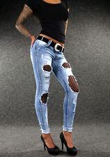 NEWPLAY Jeansröhre  mit Schnürung  Gr.36,38
