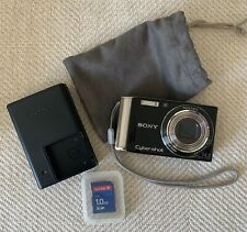 Sony Cybershot DSC-W370 Digital Camera 14.1MP 7x Optical w/ SD Card & Case