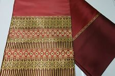 Luxury  Thai silk fabric makes for  sarong  or dress