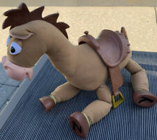 "Toy Story Bullseye Horse Plush Galloping Sound 16"" Disney Store Hard hooves"