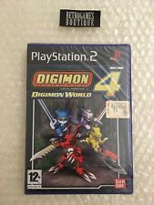 DIGIMON WORLD 4 PS2 Playstation 2 PAL ITA - NUOVO Sigillato