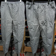 More details for faithful black check chef trousers – xl tall