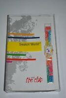 2001 Swatch Special watch SUAZ100 Pack SWATCH WORLD CLUB SPECIAL NEW!!