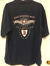 Tommy Bahama Boston Red Sox Men's Shirt Medium World Series 2013 Limited Edition