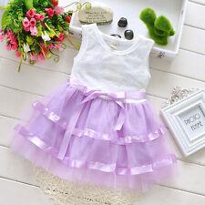 NEUF Cinda bébé filles blanc et mauve robe de fête 6-9 mois