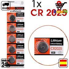 1x CR 2025 PILAS pila de botón baterías 3 V boton bateria CR2025 CR 2025 DL2025