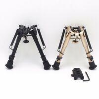 "6"" to 9"" Harris Bipod Adjustable Ruturn Sling Swivel Sniper Hunting w/o Adapter"