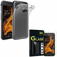 Coque Silicone Gel UltraSlim Samsung Galaxy Xcover 4S SM-G398F avec Verre Trempé