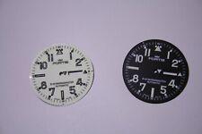 Fortis B-42 Dials. For B-42 & MarineMaster watches. Black & White.  BRAND NEW!