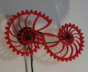 Nautilus Gears Kinetic Wall Art