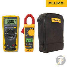 Fluke 179 True RMS Digital Multimeter KITU with 325 Clamp Meter and C115 Case