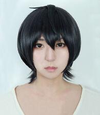 Ensemble Stars Sakuma Ritsu Short Dark Gray Heat Resistent Cosplay Hair Wig