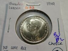 G82 Sweden 1949 Krona Choice BU Proof-Like